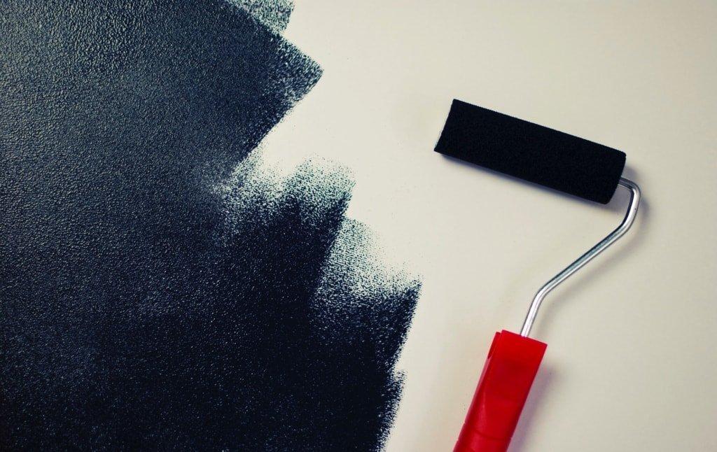 Fixing uneven paint