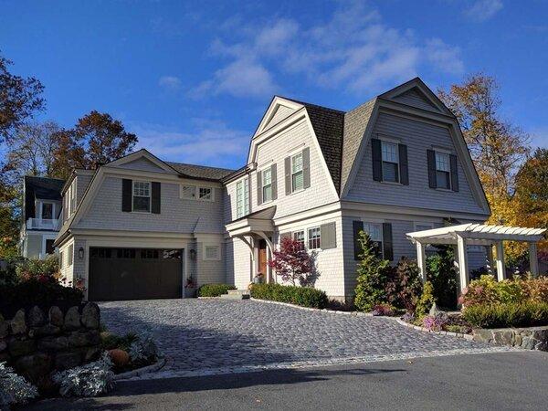 House around Marblehead Massachusetts